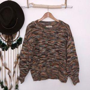 LOFT multi colored knit size S